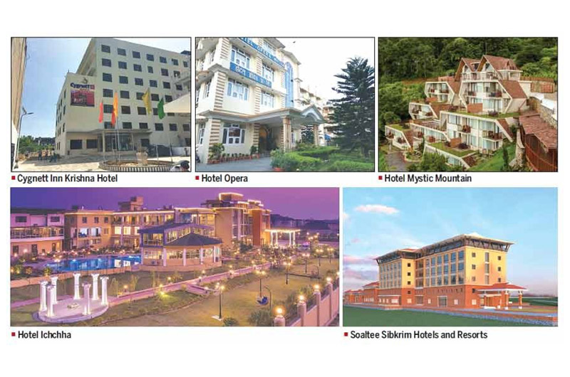Three hotels awarded 4-star rating by Tourism Department